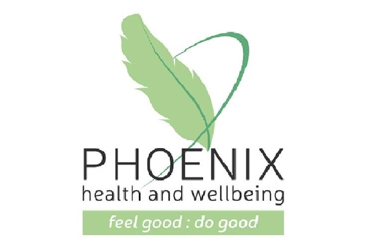 Pheonix Health and Wellbeing logo: Feel good, do good